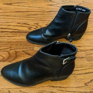 Dr Scholls black ankle boots